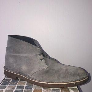 Clark's Desert Boots Grey 9.5